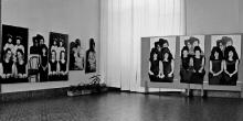 Wystawa czasowa Laureaci Grand Prix Festiwali Polskiego Malarstwa Współczesnego w Szczecinie, 1980, fot. arch.