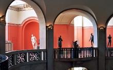 Fragment wystawy w holu Muzeum Narodowego w Szczecinie
