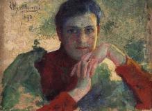 Leon Wyczółkowski, Dziewczyna, 1892, olej, płótno, 37 x 47, fot. G. Solecki/A. Piętak