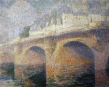 Jan Rubczak, Most nad Sekwaną, 1911, olej, płótno, 64 x 81, fot. G. Solecki/A. Piętak
