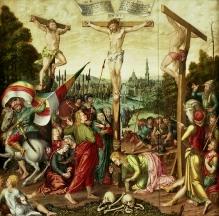 David Redtel, Tryptyk z Gryfina, część środkowa, 1580, olej, deska dębowa, całość 222 x 442 cm, fot. G. Solecki