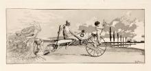 Max Klinger (1857–1920), Trzej jeźdźcy zcyklu Intermezza, 1879-1881, akwaforta