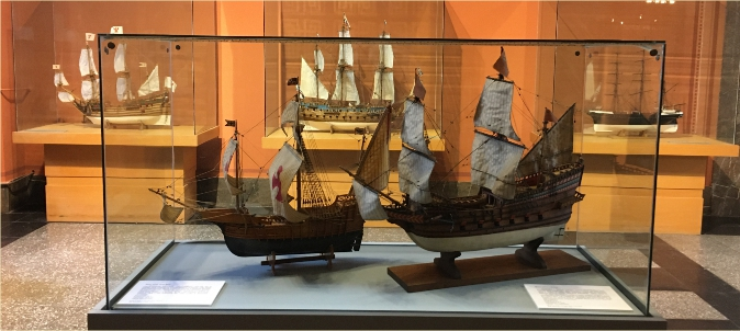 Model Ships on Exposition