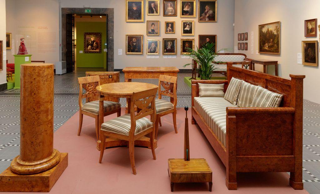 Temporary Exhibition Biedermeier National Museum In Szczecin Poland