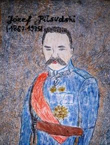 II MIEJSCE - Józef Piłsudski - Adrian Krzoski