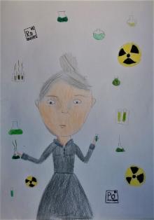 WYRÓŻNIENIE - Maria Skłodowska-Cure- Zofia Musiał
