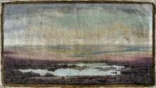 """Benedix Passig, """"Wrzosowiska"""", 1916 r., olej, płótno"""