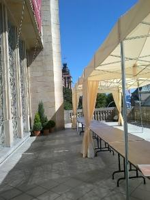 Taras Gmachu Glownego Muzeum Narodowego w Szczecinie