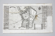 Gabriel Bodenehr, Plan Szczecina z umocnieniami, Augsburg, 1720-1740, miedzioryt (fot. G. Solecki).
