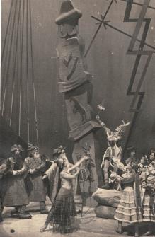 Andrzej Stopka, Swantewit, fotos teatralny nieznanego autora, 1948, Archiwum Teatru Wielkiego w Poznaniu
