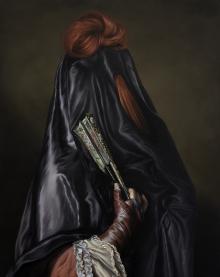 Ewa Juszkiewicz - Untitled - Bez tytułu (oil on canvas, 2014, Zachęta Sztuki Współczesnej Szczecin)