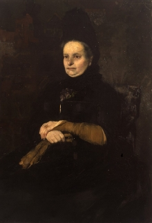 Olga Boznańska, Portret matki, 1886, olej, płótno, 116 x 80, fot. G. Solecki/A. Piętak