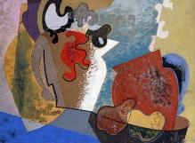 Kazimierz Podsadecki, Kompozycja bezprzedmiotowa, 1933, olej, płótno, 30 x 40, fot. G. Solecki/A. Piętak