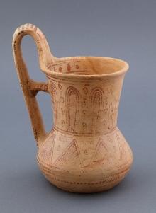 Dzban, styl attycki geometryczny, Attyka, Grecja, kon. XVIII – pocz. XVII w. p.n.e.