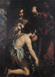 Malarz włoski, Powrót syna marnotrawnego, 1 poł. XVII w., olej, płótno, 180 x 135 cm, fot. G. Solecki