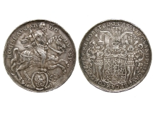 Bogusław XIV, talar podwójny, 1635, mennica Szczecin, srebro, Ø 42,8 mm, fot. M. Pawłowski