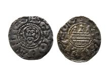 Bogusław Ii Kazimierz I, denar (1156-1180), mennica Kołobrzeg, srebro, Ø 17,2 mm, fot. M. Pawłowski