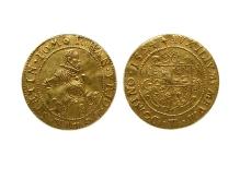 Jan Fryderyk, dukat, 1594, mennica Szczecin, złoto, Ø 23,0 mm, fot. M. Pawłowski
