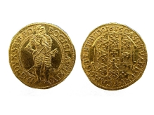 Bogusław XIV, dukat 1635, mennica Szczecin, złoto, Ø 23,3 mm, fot. M. Pawłowski