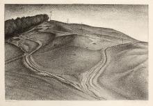 Alexander Kanoldt (1881–1939), Hiddensee IV, 1927, litografia