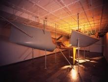 Krzysztof M. Bednarski (ur. 1953), Moby Dick II, 2008, instalacja, technika własna, wym. różne, fot. Grzegorz Solecki