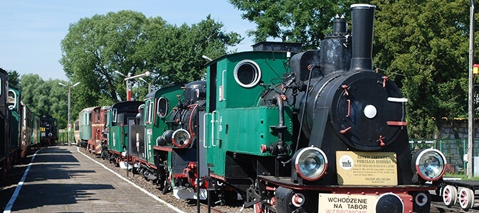 The National Museum in Szczecin — The Seaside Narrow-Gauge Railway Exhibition - National Museum in Szczecin Poland