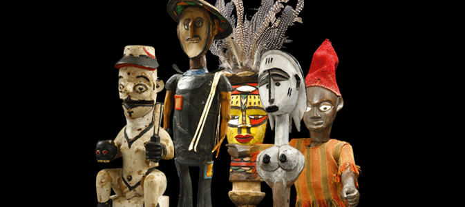 Children of magic. African dolls and puppets